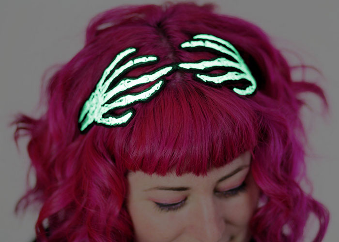 Halloween Hair Accessories By Janine Basil Are Spook-tacularly Awesome