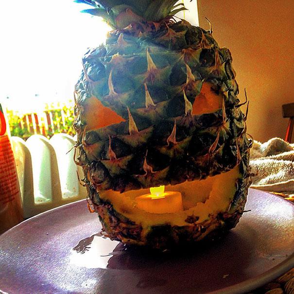 Pineapple Lantern