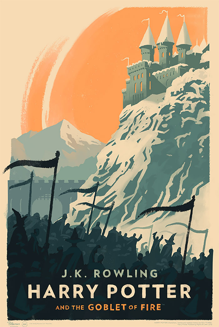 Harry Potter Book Cover Tumblr : Magical vintage harry potter book covers by olly moss