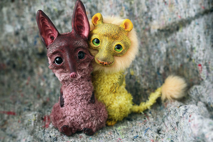 I Create Super Cute And Creepy Dolls