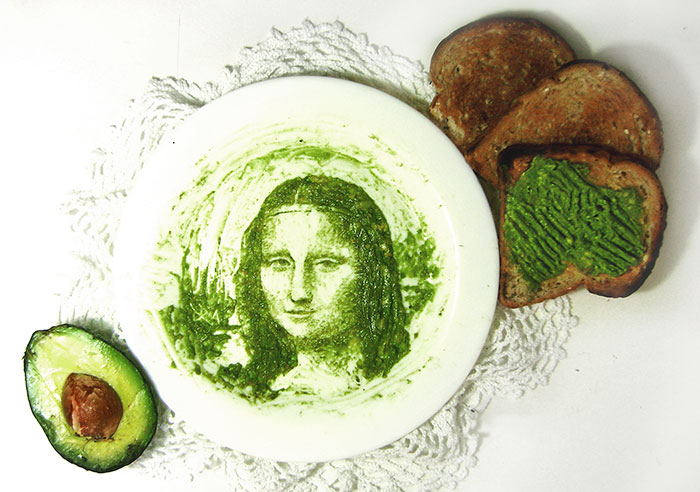 I Draw With Avocados Before Eating Them