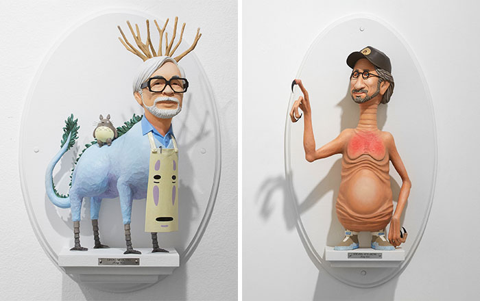 10+ Famous Directors Merged With Their Most Iconic Characters By Mike Leavitt