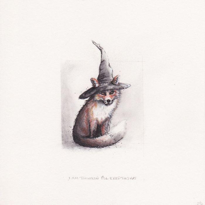 """""""I Am Thinkin' I'll Keep The Hat"""""""