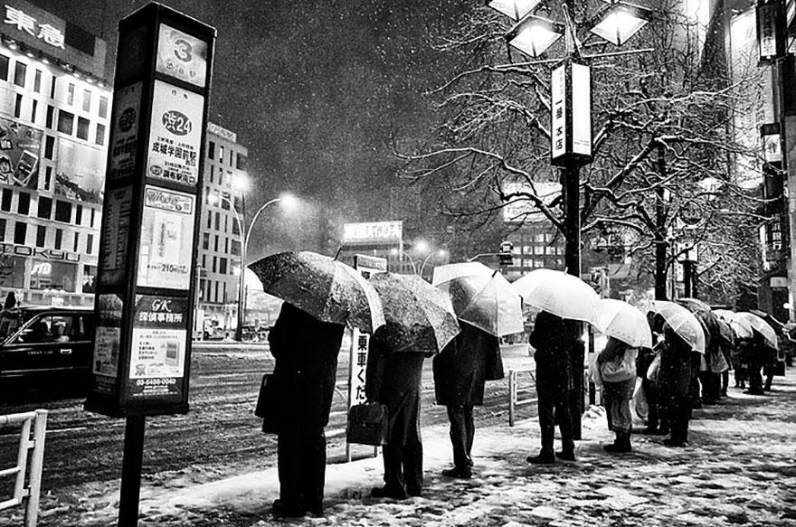 Fotografía de la calle Japón