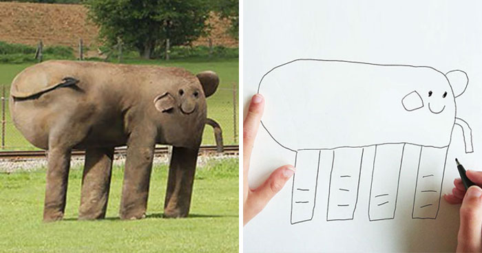 Dad Turns His 6-Year-Old Son's Drawings Into Reality (10+ Pics)