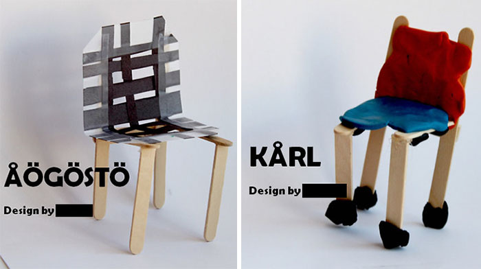 Kids Make A Fake Ikea Advertisement