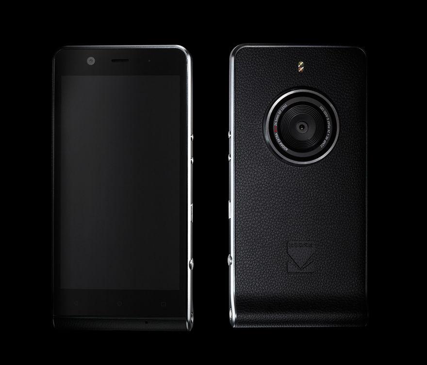 Kodak lanza nuevo smartphone diseñado especialmente para fotógrafos