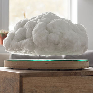 This Levitating Storm Cloud Is Actually A Bluetooth Speaker (See GIF Inside)