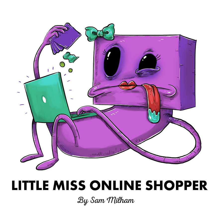 Little Miss Online Shopper