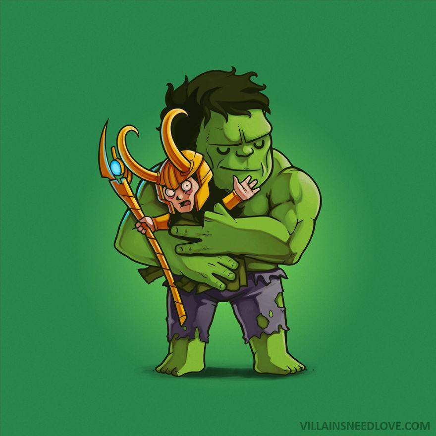 Loki & Hulk