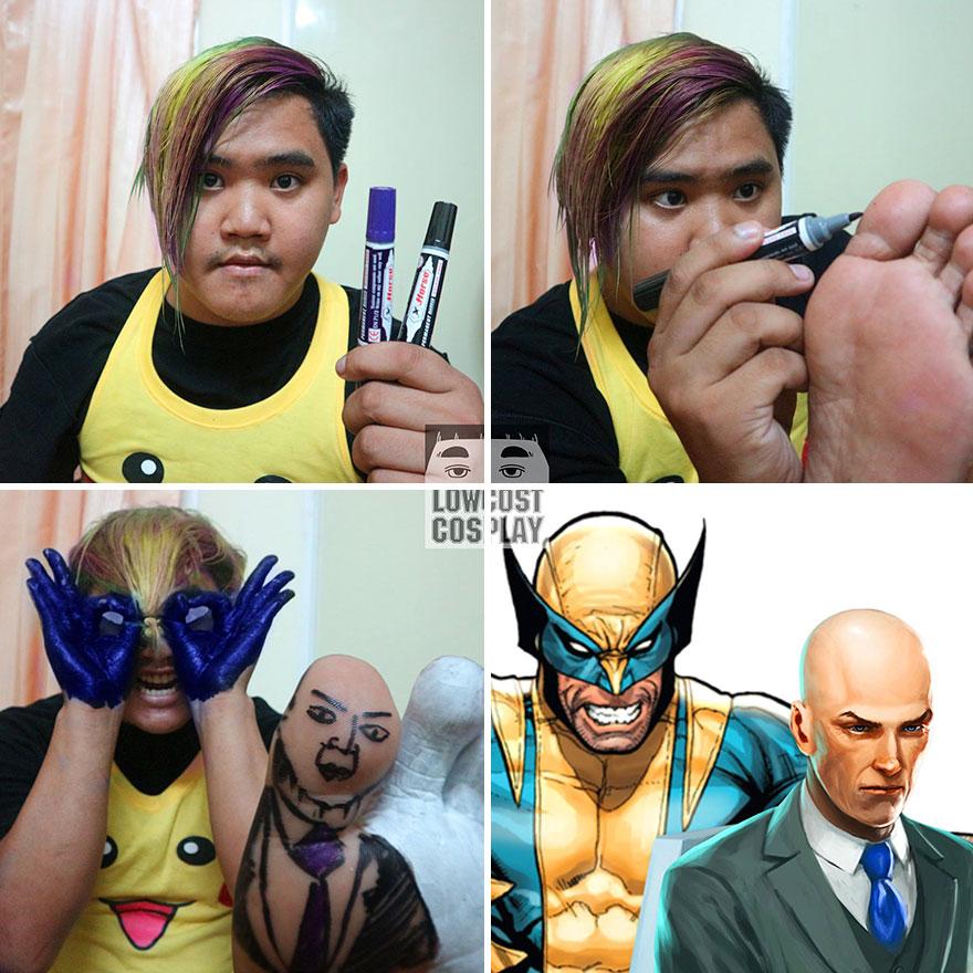 Wolverine And Professor X