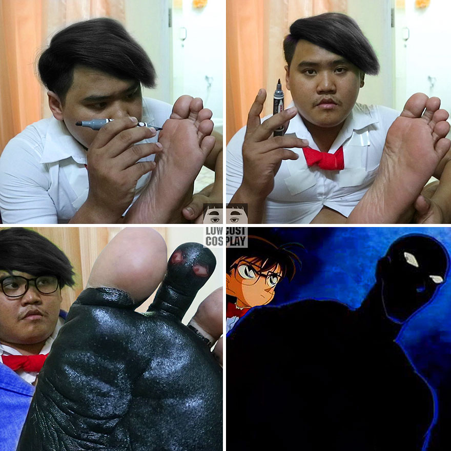 Cheap Cosplay Guy Strikes Again With Low Cost Costumes From