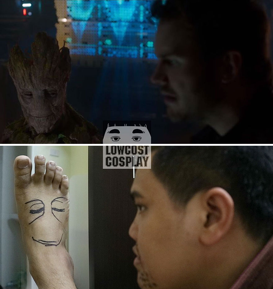 Groot And Peter Quill