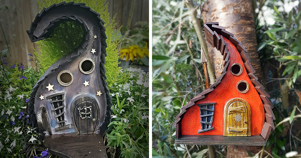 I Build Fairytale Like Birdhouses For The Tiny Creatures That Live In Your  Garden | Bored Panda