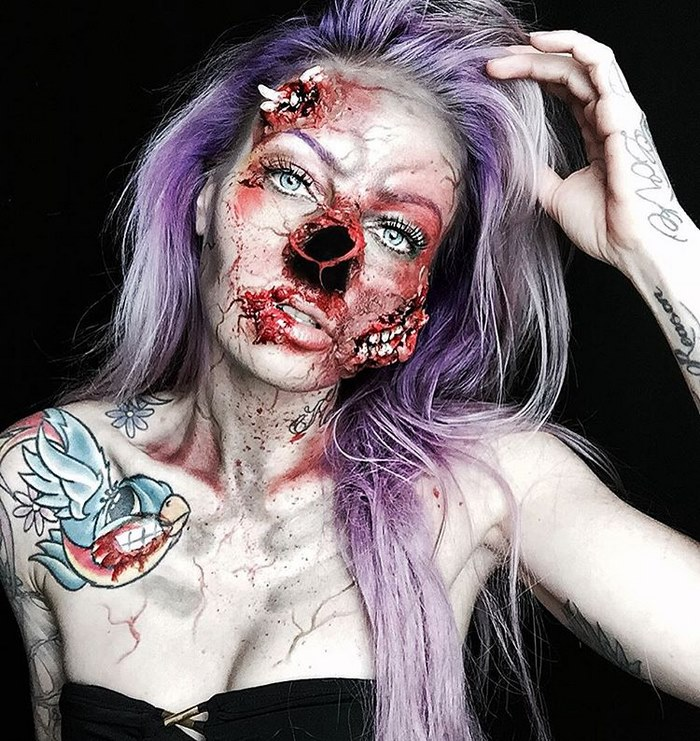 Creepy Makeup Art