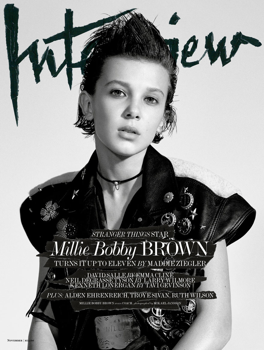 Eleven\' From Stranger Things Looks Seriously Badass On Her First ...