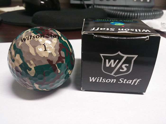 I Received The Most Useless Item Ever At A Golf Tournament Yesterday