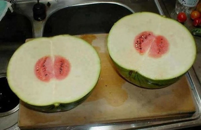 Probably The Most Useless Watermelon In The World