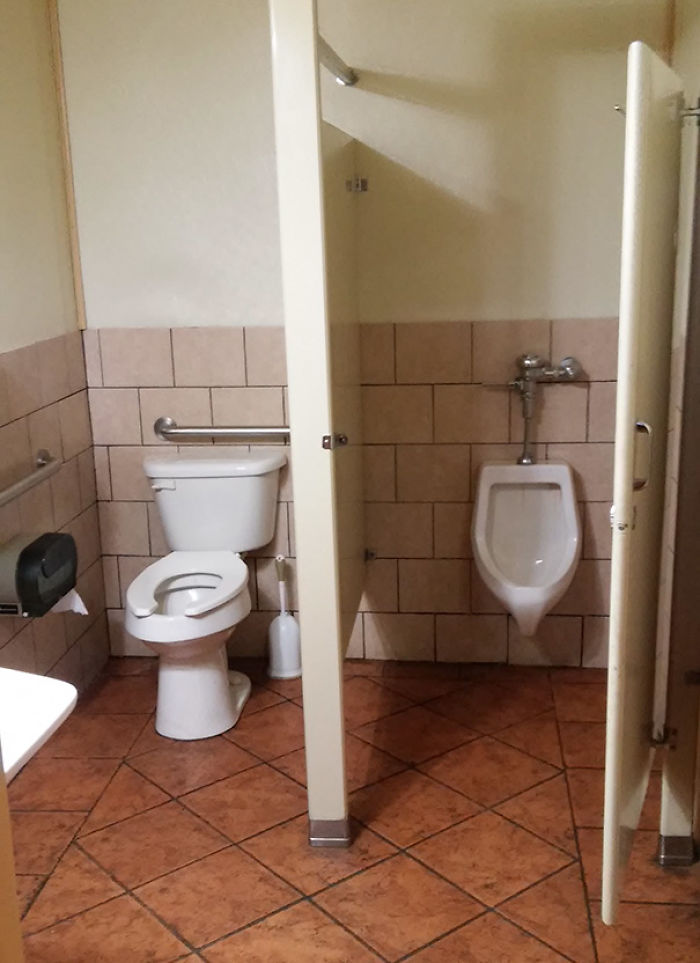 Hey Joe, Did You Get That Urinal And Toliet Installed?