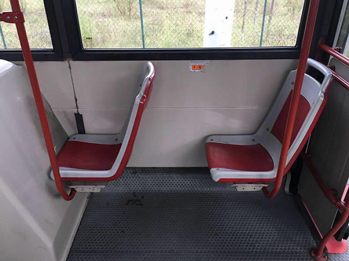 Sure Boss, The Bus Has All The Seats In Place