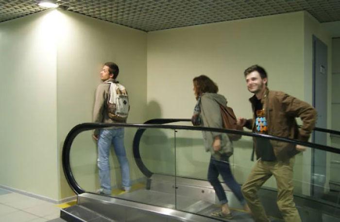This Escalator Has A Purpose