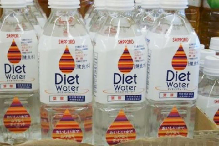 Diet Water. Because Plain Old Water Has Too Much Calories