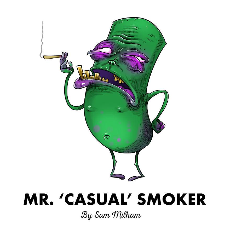 Mr. 'casual' Smoker