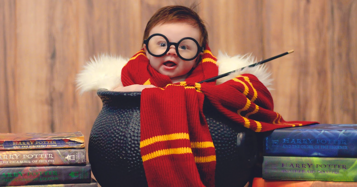 3-Month-Old Baby Has A u0027Harry Potteru0027 Photoshoot And It Couldnu0027t Get Any Cuter | Bored Panda  sc 1 st  Bored Panda & 3-Month-Old Baby Has A u0027Harry Potteru0027 Photoshoot And It Couldnu0027t Get ...