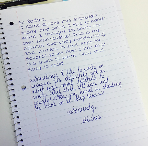 Perfect Handwriting