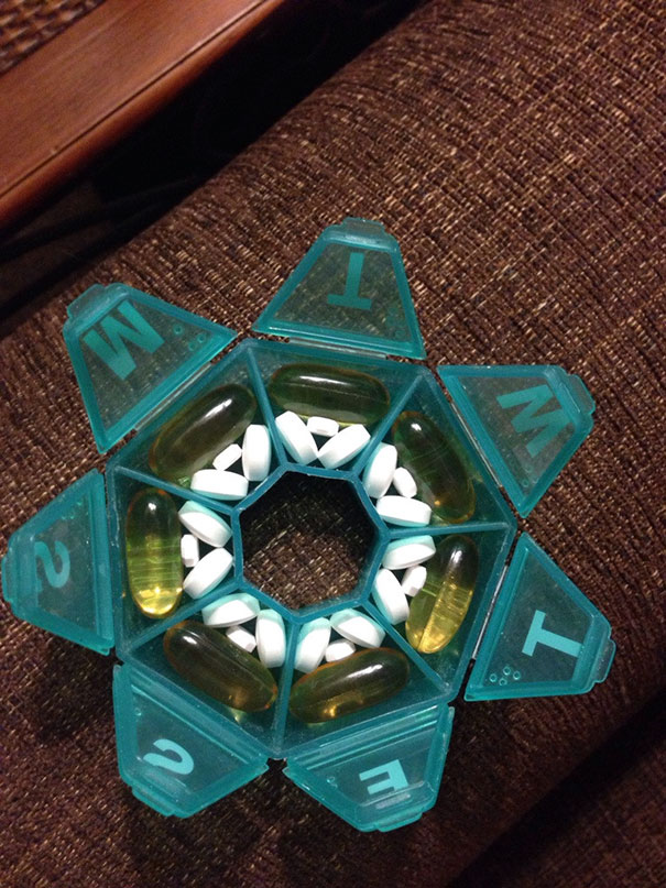 Only Way All My Pills Fit