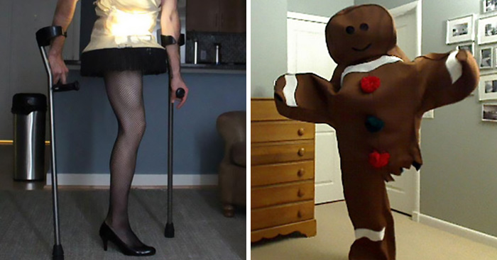 Every Halloween This One-Legged Guy Makes An Epic Halloween Costume, He Just Revealed A New One