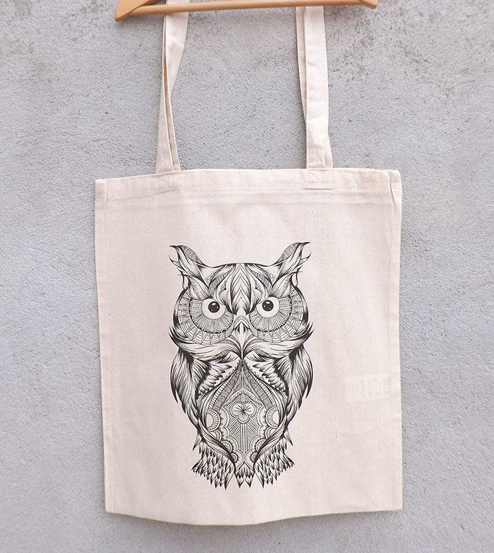 Tote Owl Bag