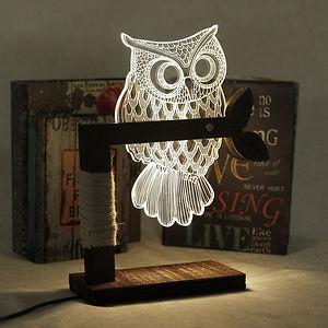Owl Led Table Light Lamp