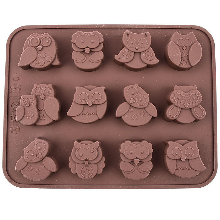 Owl Silicone Mould