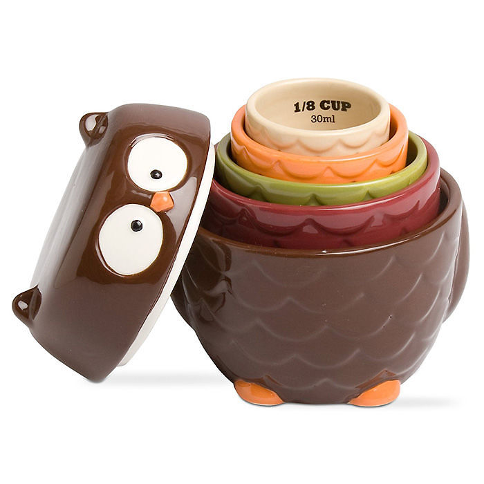 Owl Measuring Cup Set