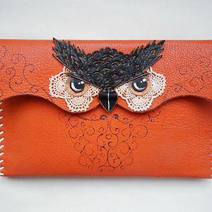 Owl Leather Handbags