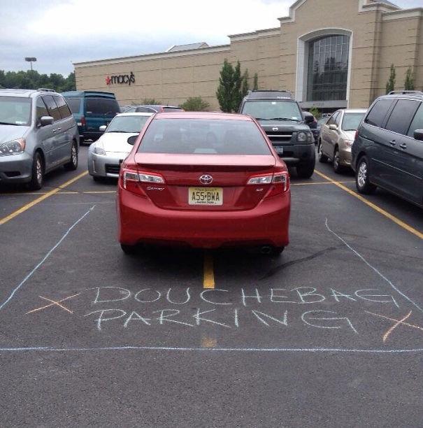 Passive-aggressive Parking Notes