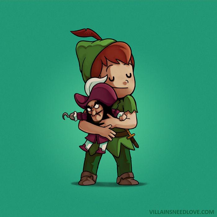 Hook & Peter Pan