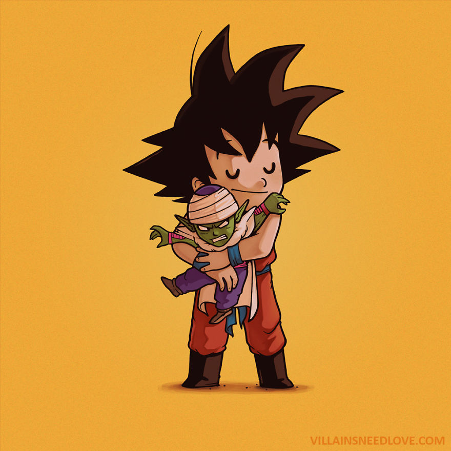 Piccolo & Goku