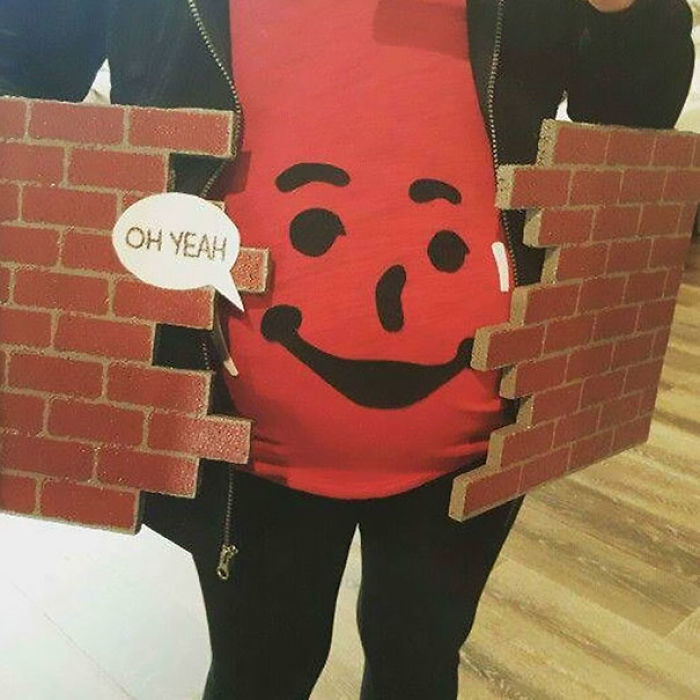 Best Pregnant Halloween Costume Ever