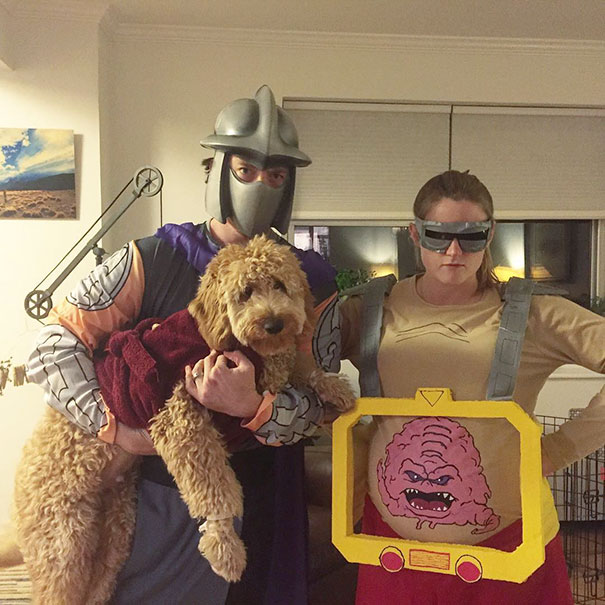 Krang and Shredder have captured Master Splinter