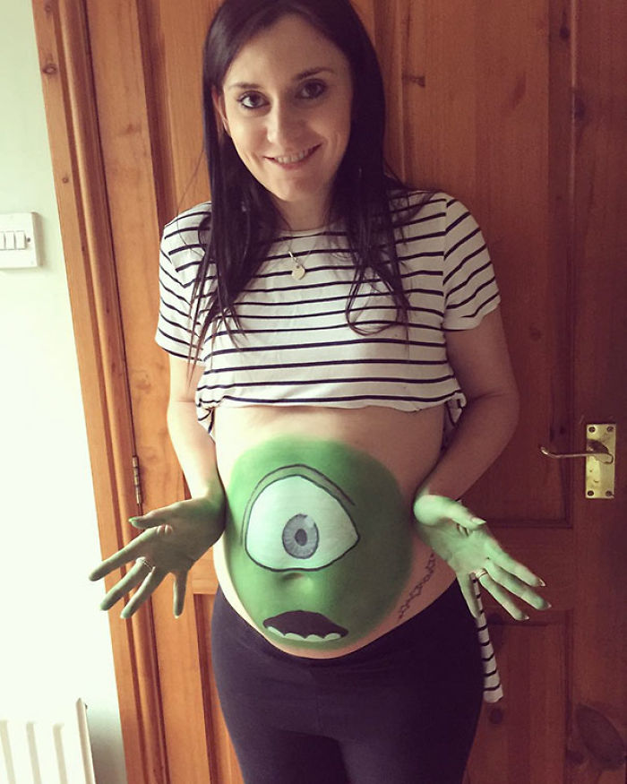 Who Says Pregnant Women Can't Have Fun At Halloween