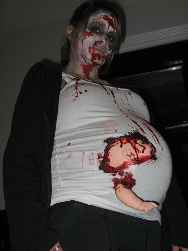 Pregnant Zombie...I Offended A Few People