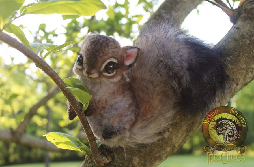 """Chesnutt,"" The Baby Squirrel"