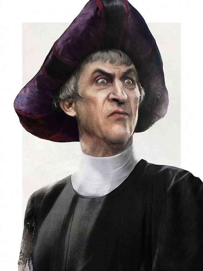 Judge Claude Frollo From The Hunchback Of Notre Dame