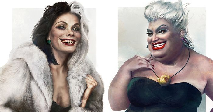 What Disney Villains Would Look Like In Real Life 12 Pics