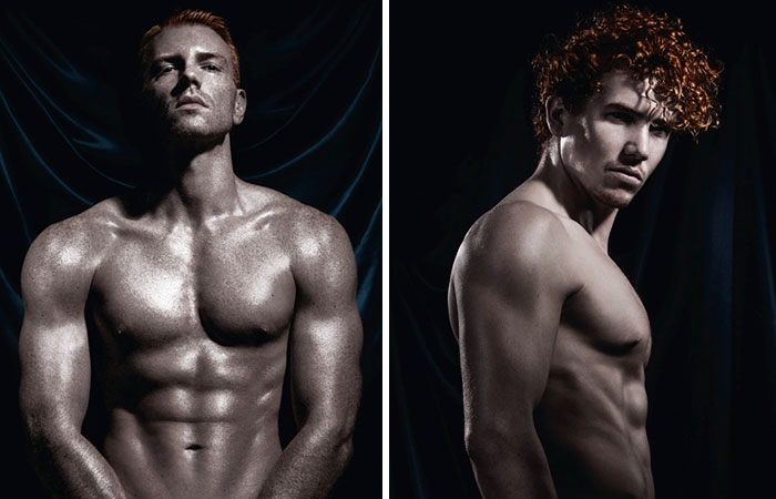 World's First Ever Calendar Of Naked Red-Haired Men That We Made For 2017 (NSFW)