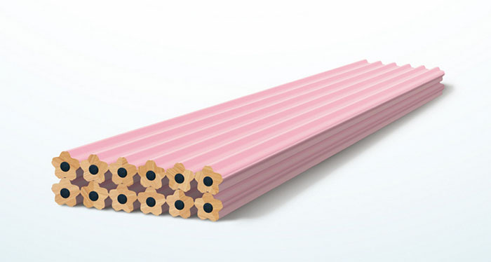 These Sakura Pencils Release Cherry Blossom Petals When Sharpened