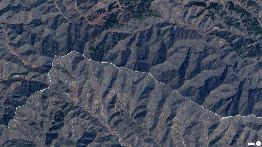 Gran Muralla China, el norte de China