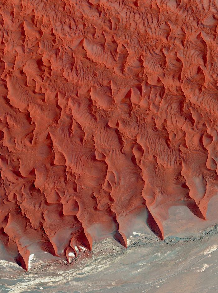 Salt And Clay Pan, Namib Desert, Namibia